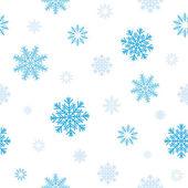 Blue snow pattern — Stock Vector