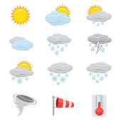 Weather icon — Stock Vector