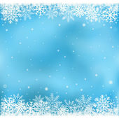 Blue snow mesh background — Stock Vector
