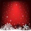 Dark red snow mesh background — Stockvektor