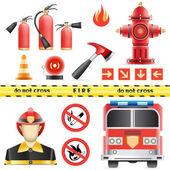 消防套 — 图库矢量图片