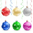 Christmas bauble — Stock Vector