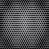 Metal grid background — Vettoriale Stock