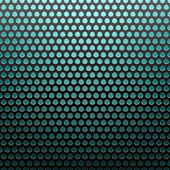 Metal grid blue light background — Wektor stockowy