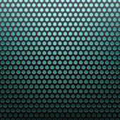 Metal grid blue light background — Stock Vector