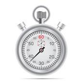 Retro stopwatch — Stock Vector
