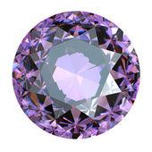 Round Gemstone isolated — Stock Photo
