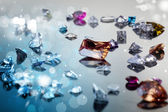 Set of many different gemstone — Stock Photo