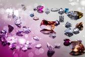 Set of many different gemstone — Stock Photo