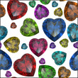 Heart shaped Diamond isolated - Lizenzfreies Foto