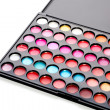 Royalty-Free Stock Photo: Professional multicolour eyeshadows palette