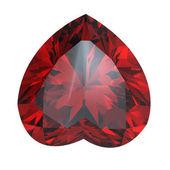 Heart shaped Diamond — Stock Photo