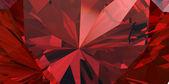 Red Gemstone — Stock Photo