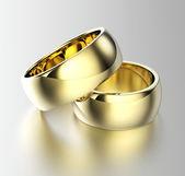 Alianças de casamento — Foto Stock
