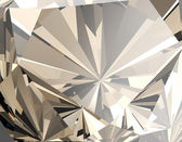 Facet Diamond  Background — Stock Photo