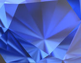 Blue Sapphire Background — Stock Photo