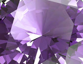 Purple amethyst Facet Background — Stock Photo