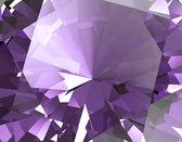 Purple amethyst Facet Background — Stock Photo