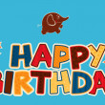 Happy birthday greetings — Stock Vector