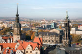 Dresden. View over the city — Stock Photo