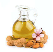 Almond oil — Stock Photo