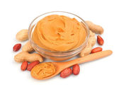 Creamy peanut butter — Stock Photo