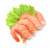 Shrimps close up — Stock Photo