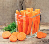 Carrot slices — Stock Photo