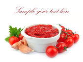 Tomatoes paste — Stock Photo