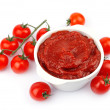 Stock Photo: Tomatoes paste