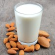 Almond milk - Photo