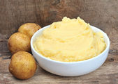 Mashed potatoes potato — Stock Photo