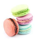 Postre macarons franceses — Foto de Stock