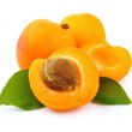 Sweet apricots fruits — Stock Photo