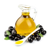 Bottle of olive oil — Stock Photo