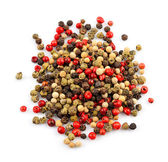 Mix of dried peppers — Stock Photo