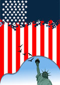 4th July – Independence day of United States of America. Ameri — Wektor stockowy