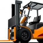 Lift truck. Forklift. Vector illustration — Stock Vector #34113217