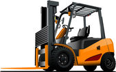 Lift truck. Forklift. Vector illustration — Stock Vector