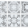 Decorative finishing ceramic tiles — 图库矢量图片 #34286929