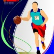 Basketball poster. — Stock Vector #34951253