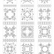 Collection of Ornaments — Stock Vector
