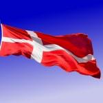 Flag of Denmark — Stock Photo #5864879