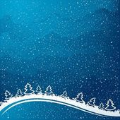 Just realistic beautiful snow — Vector de stock