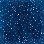 Neve bella appena realistica su sfondo blu — Vettoriale Stock