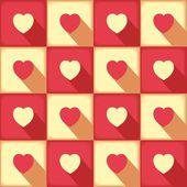 Sweet pop-art pattern for love — Wektor stockowy