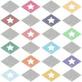 Seamless pattern casual star — Stock Vector