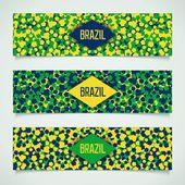 Brazilian carnival banner — Stockvektor