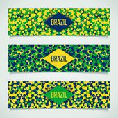 Brazilian carnival banner — Stock Vector