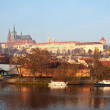 Stock Photo: Morning view of Prague